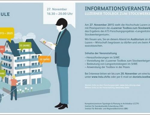 Informationsveranstaltung Luzerner Toolbox – ein voller Erfolg!